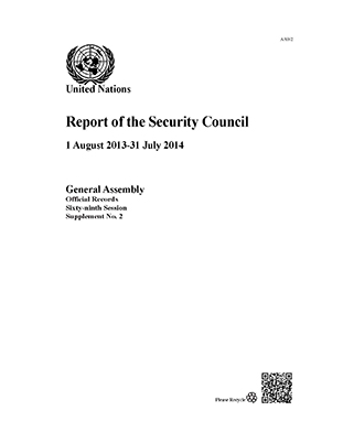 GAOR 69TH SUPP2 SECURITY COUNCIL