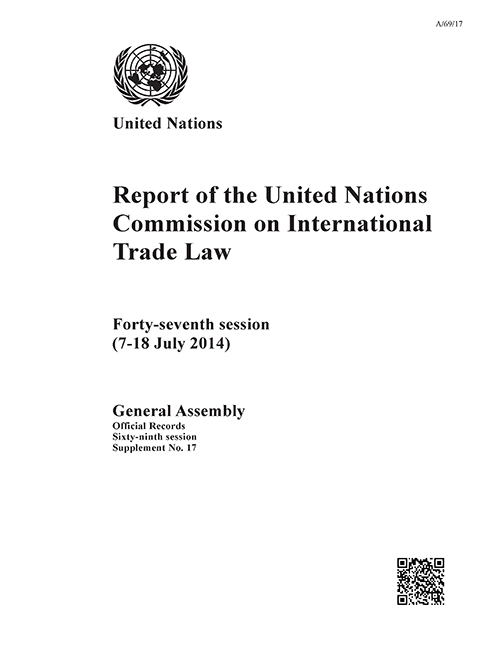 GAOR 69TH SUPP17 UNCITRAL RPT