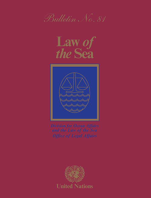 LAW OF THE SEA BULLETIN #81
