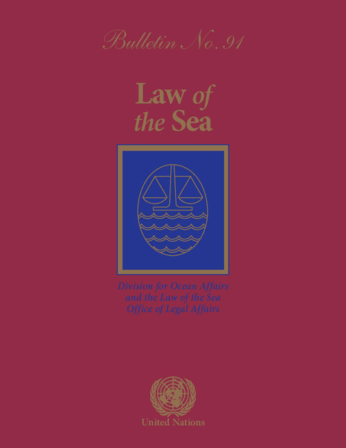 LAW OF THE SEA BULLETIN #91