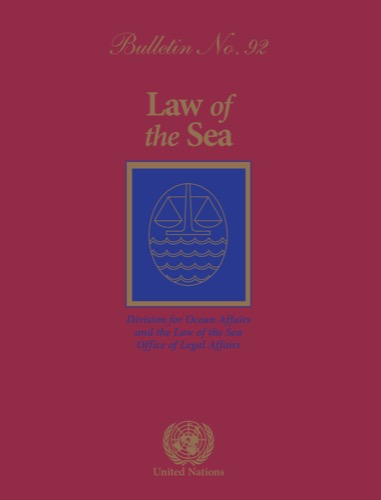 LAW OF THE SEA BULLETIN #92