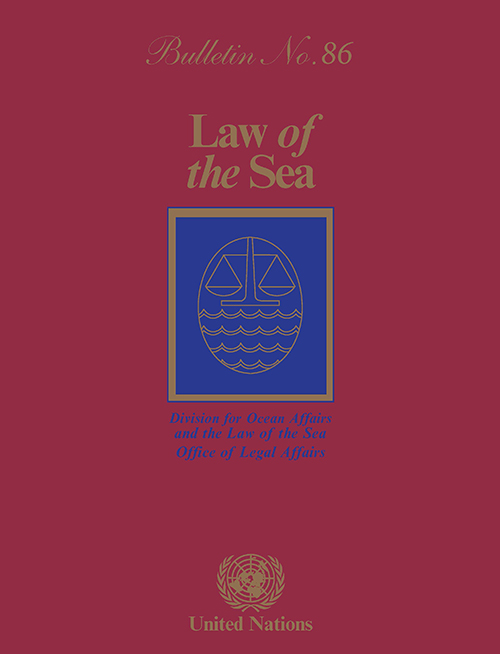 LAW OF THE SEA BULLETIN #86