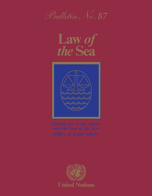 LAW OF THE SEA BULLETIN #87