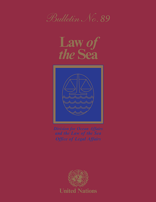 LAW OF THE SEA BULLETIN #89