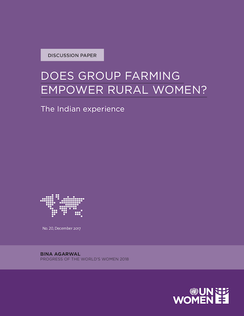 DOES GROUP FARMING EMPOWER RURAL