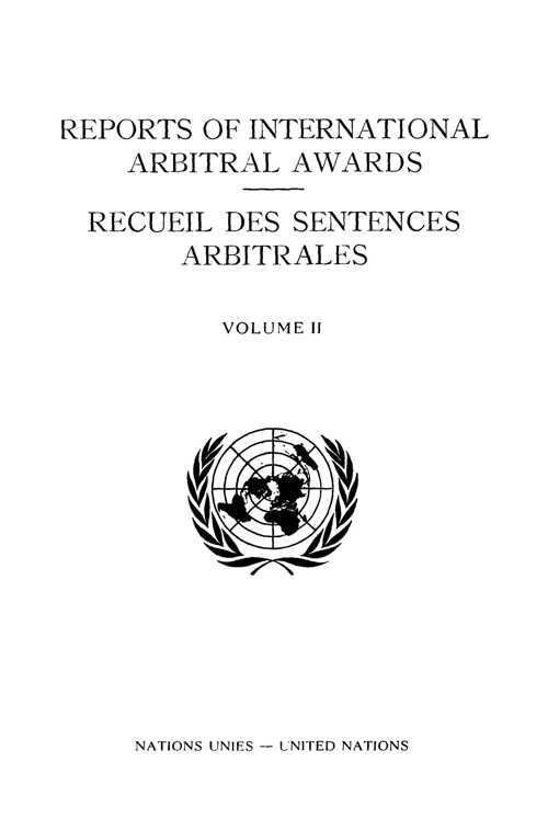 RPT INTL ARBITRAL AWARDS #2