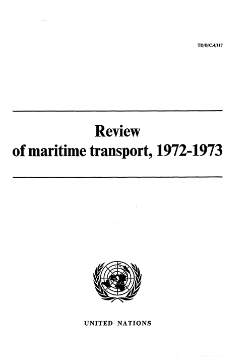 REVIEW MARITIME TRANS 1972-73