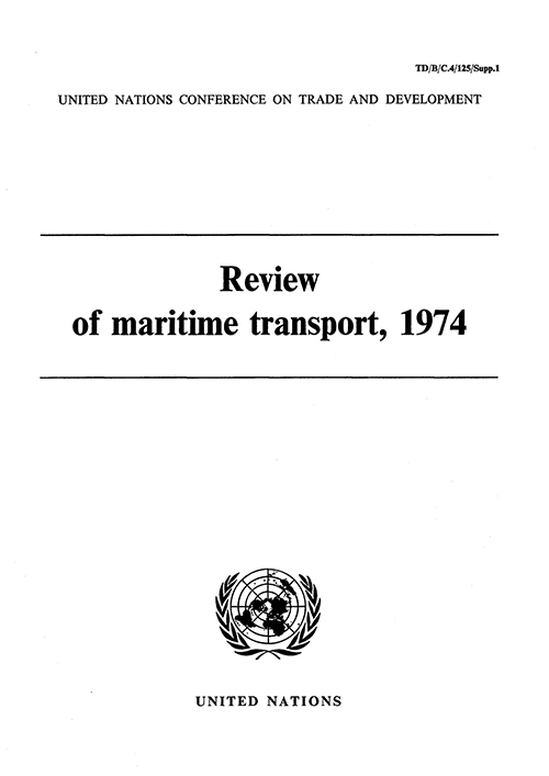 REVIEW MARITIME TRANS 1974