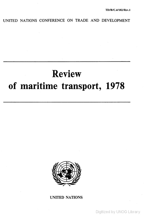 REVIEW MARITIME TRANS 1978