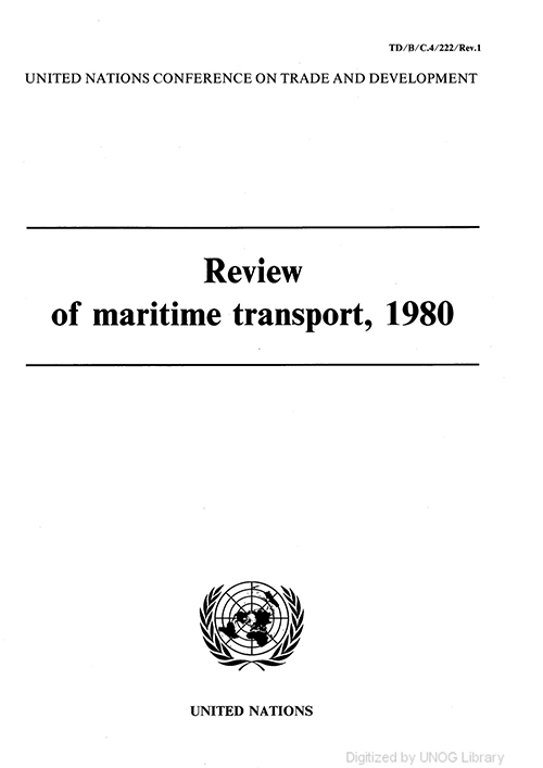 REVIEW MARITIME TRANS 1980