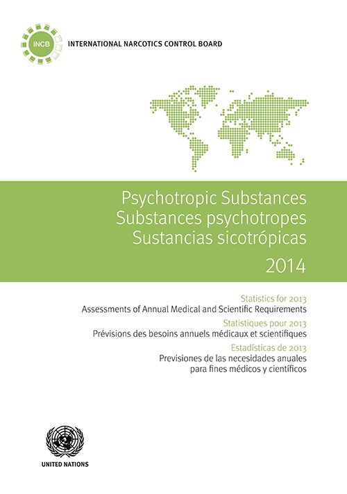 PSYCHOTROPIC SUBSTANCES STAT 2014