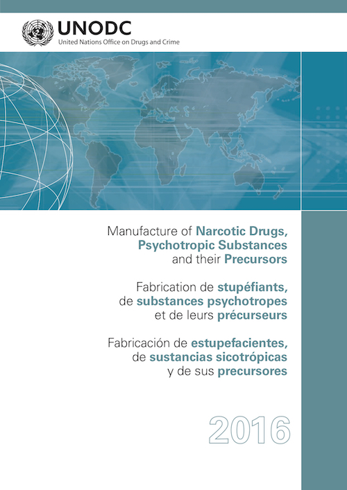 MANUFACTURE NARCOTIC DRUGS 2016