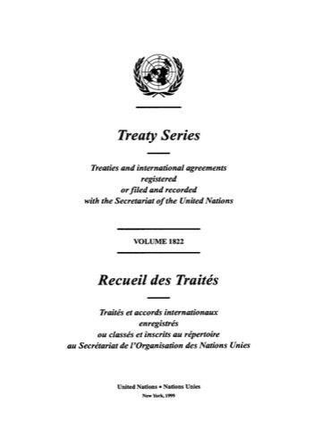 TREATY SERIES 1822