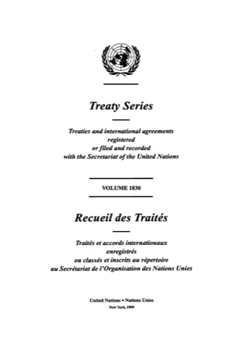 TREATY SERIES 1830