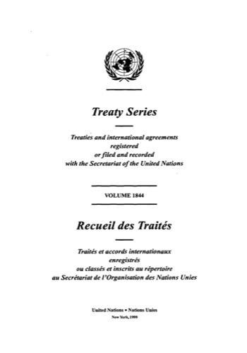 TREATY SERIES 1844