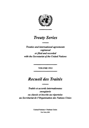 TREATY SERIES 1912