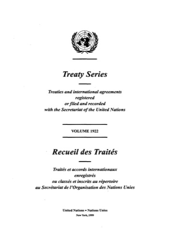 TREATY SERIES 1922