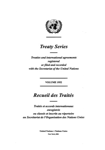 TREATY SERIES 1952 I 33431-33472