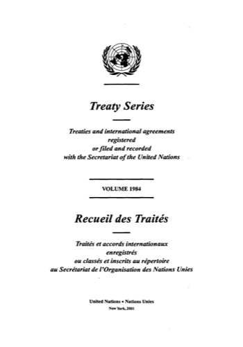TREATY SERIES 1984
