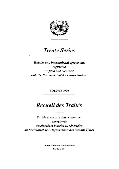 TREATY SERIES 1990