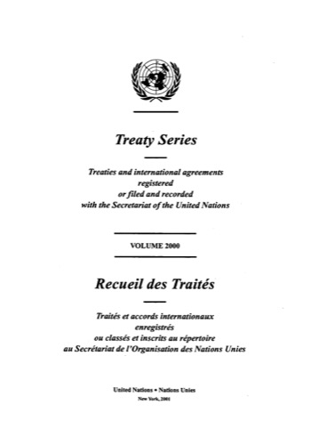 TREATY SERIES 2000