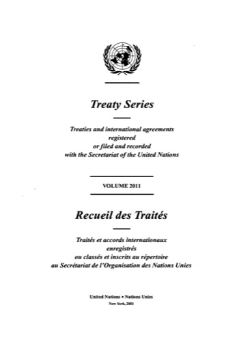 TREATY SERIES 2011