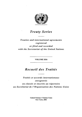 TREATY SERIES 2026