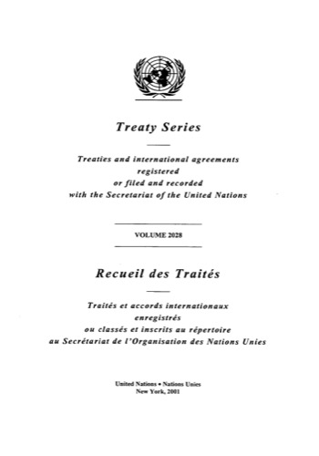 TREATY SERIES 2028
