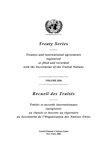 TREATY SERIES 2036 I 35149-35232