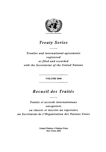 TREATY SERIES 2040 ANNEX A