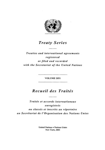 TREATY SERIES 2051 I 35444-35457