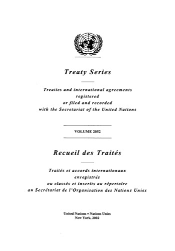 TREATY SERIES 2052 ANNEX A