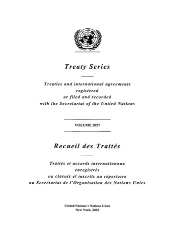 TREATY SERIES 2057 ANNEX A