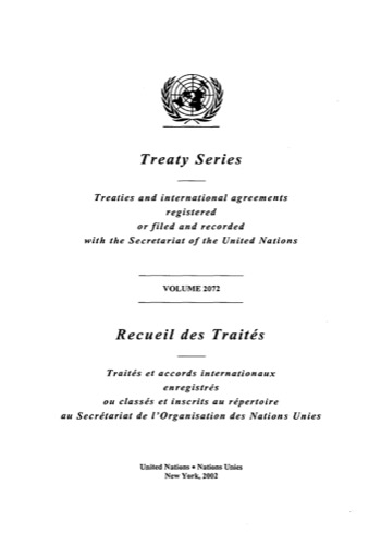 TREATY SERIES 2072 I 35925-35939