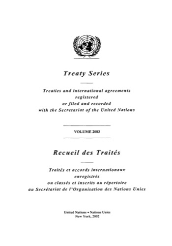 TREATY SERIES 2083 I 36130-36138