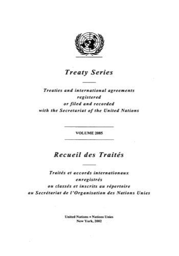 TREATY SERIES 2085 I 36188-36202