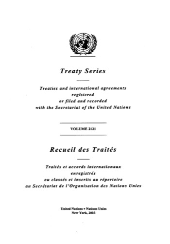 TREATY SERIES 2121 I 36927-36943