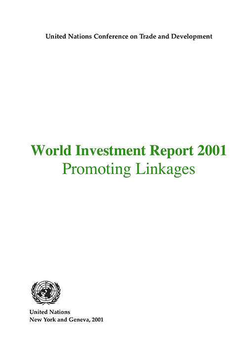 WORLD INVESTMENT RPT 2001