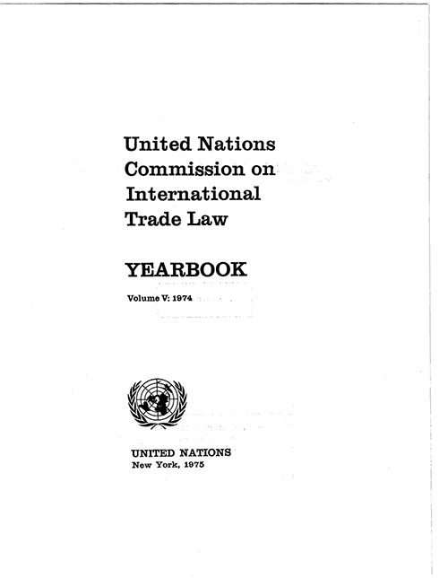 UNCITRAL YRBK 1974 V5 (CD)