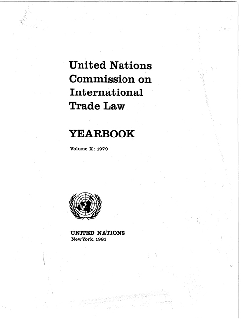 UNCITRAL YRBK 1979 V10 (CD)