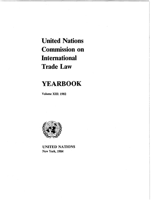 UNCITRAL YRBK 1982 V13 (CD)