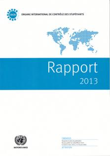 RAPPORT ORGANE INTL CONTROLE 2013