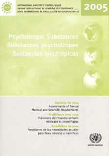 PSYCHOTROPIC SUBSTANCES STAT 2004