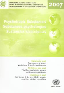 PSYCHOTROPIC SUBSTANCES STAT 2006
