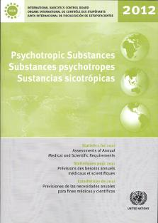 PSYCHOTROPIC SUBSTANCES STAT 2012