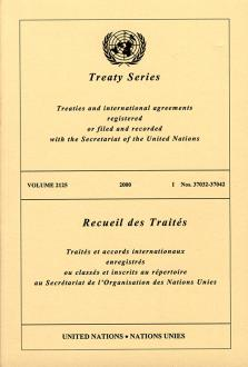 TREATY SERIES 2125 I 37032-37042
