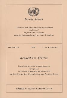 TREATY SERIES 2329