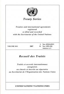 TREATY SERIES 2411