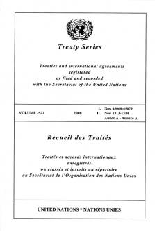 TREATY SERIES 2522