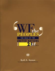 !WE THE PEOPLES! THE ROLE OF THE